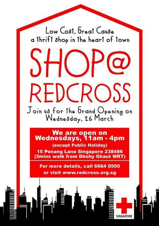 Shop @ Red Cross (26 March 2014)