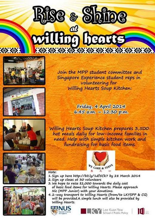 Volunteer for the Willing Hearts Soup Kitchen!