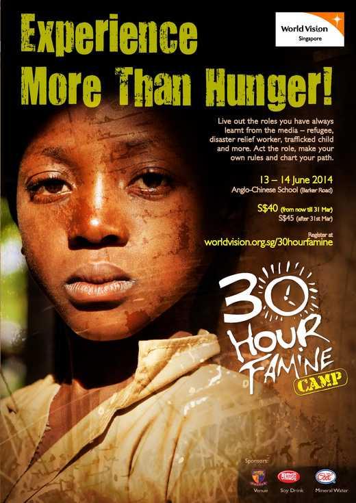 World Vision 30 Hour Famine 2014