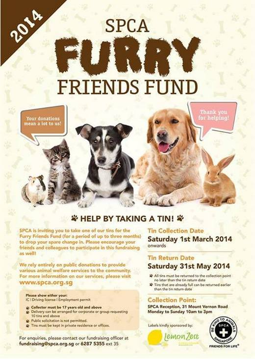 SPCA Furry Friends Fund 2014