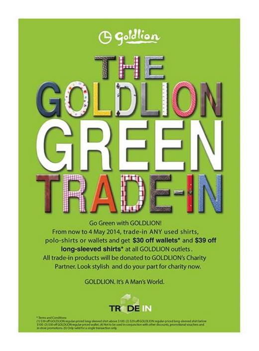 The Goldlion Green Trade-in