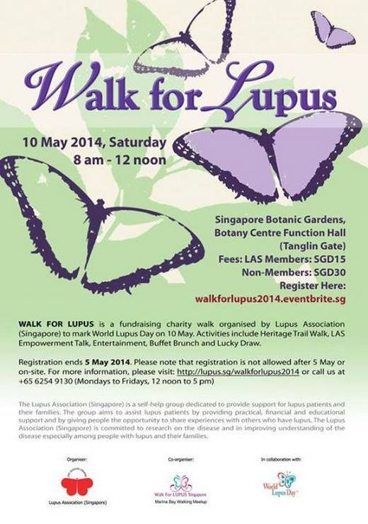 Walk For Lupus 2014