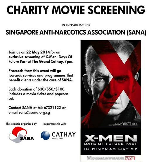 X-Men Charity Movie Screening