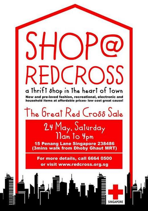 The Great Red Cross Sale (24 May 2014)