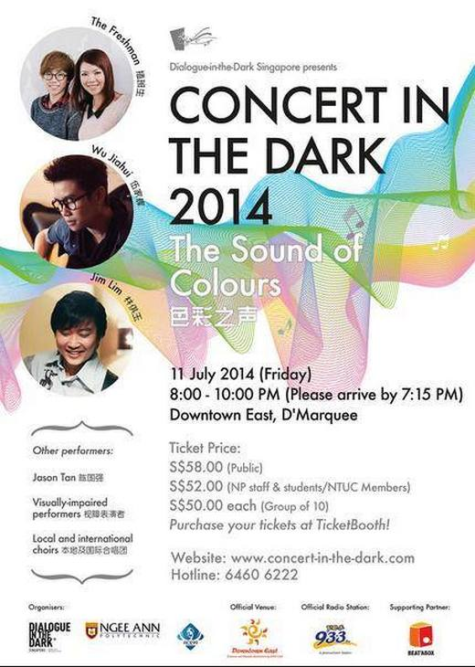 Concert In The Dark 2014