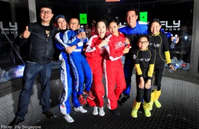 Dr Jia Jia emerges as social media winner of iFly's charity initiative