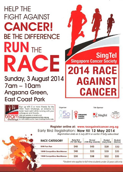 Run Against Cancer 2014