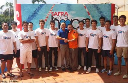 SAFRA Swim for Hope 2014 aims to double funds raised for charity
