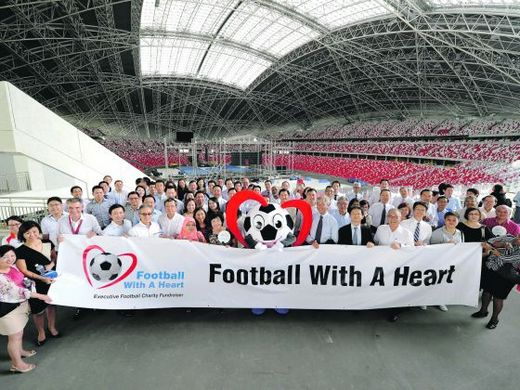 Football with a Heart event aims to raise S$650,000