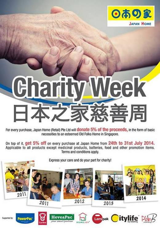 Japan Home Charity Week 2014