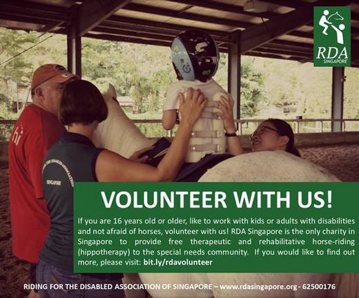 Join RDA Singapore as a Volunteer!