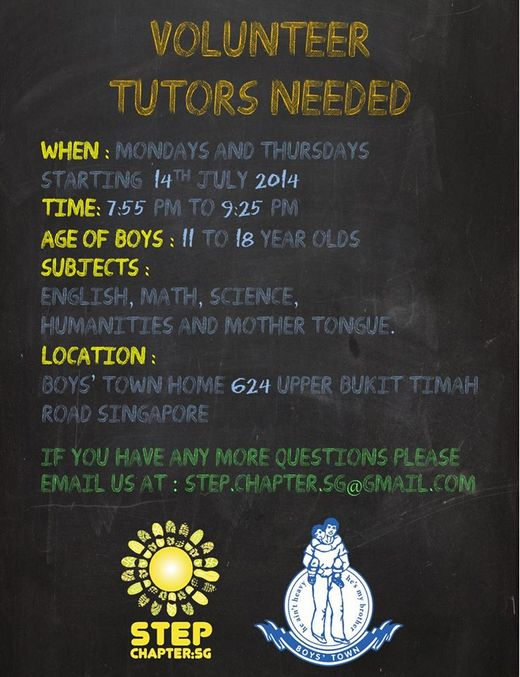 Looking for Volunteer Tutors at Boys Town