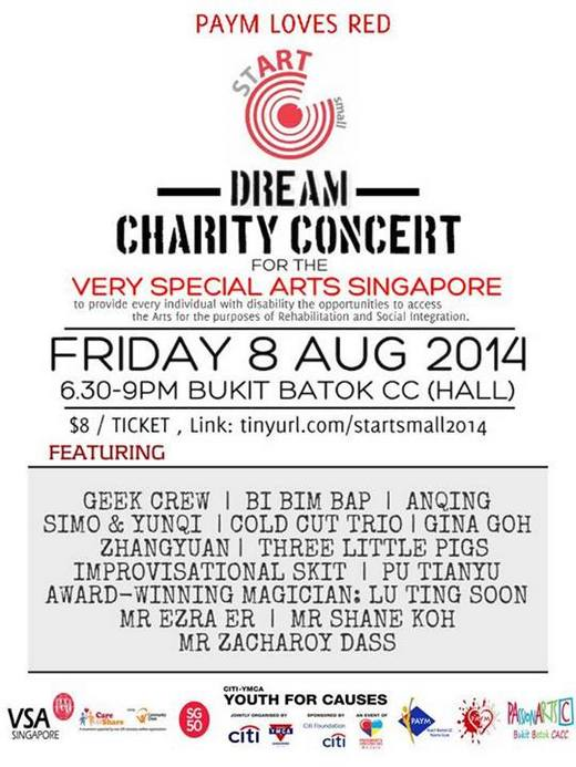 PAYM Loves Red Dream Charity Concert