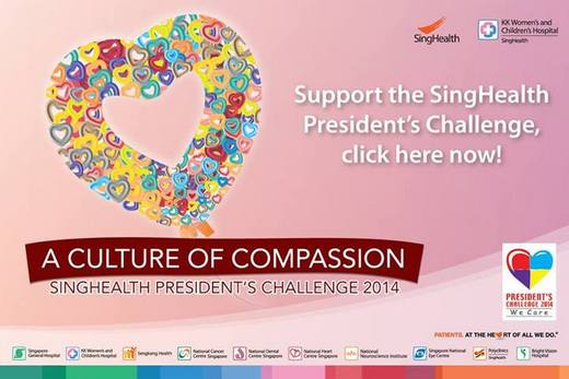 SingHealth Presidents Challenge 2014