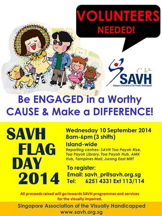 Volunteers Needed for SAVH Flag Day 2014