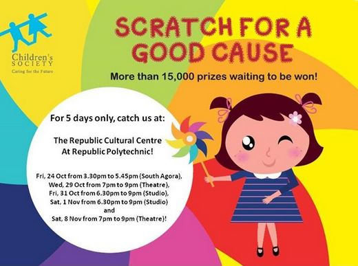 Scratch For A Good Cause @ Republic Polytechnic