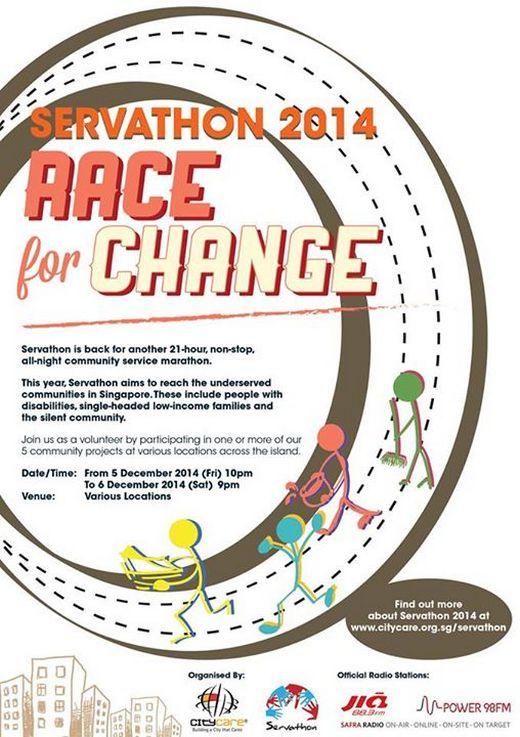 Servathon 2014 - Race for Change