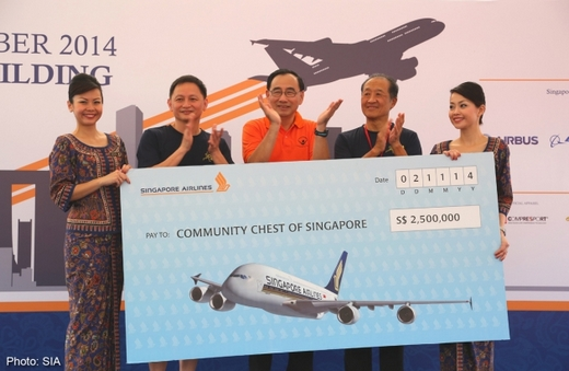 SIA raises $2.5m for Community Chest
