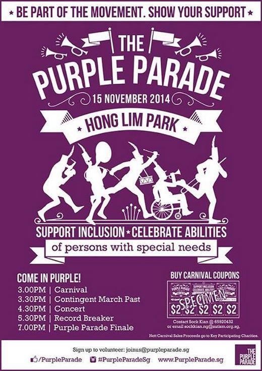 The Purple Parade 2014
