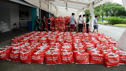 1,300 food hampers delivered to needy as part of Boys' Brigade's Share-a-Gift campaign