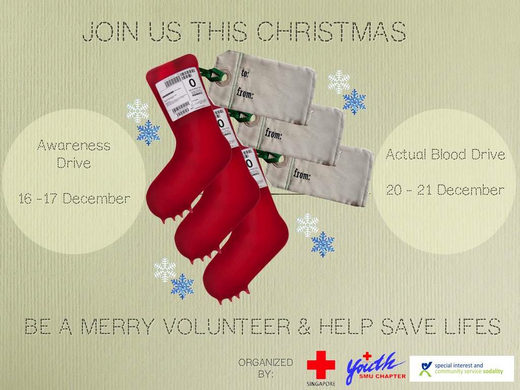 Blood Donation Drive (20 - 21 Dec 2014)