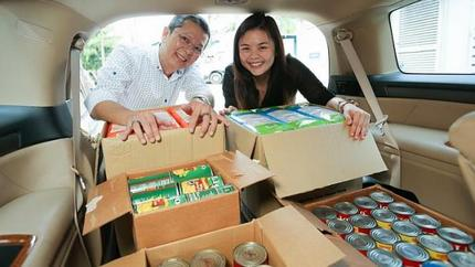 Supermart sells to the needy for less