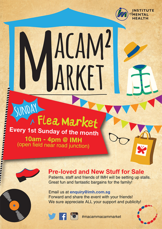 Macam Macam Flea Market 2015