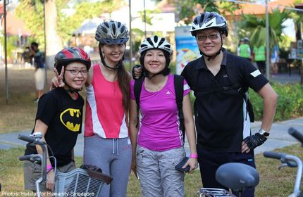 Cyclists raise over $50,000 for disadvantaged youths to pay it forward