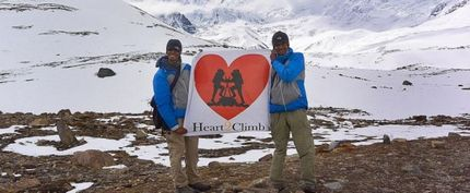 Two undergraduates climb Mount Damavand to raise funds for Children's Cancer Foundation