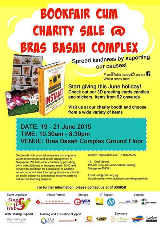Bras Basah Complex Charity Sale 2015