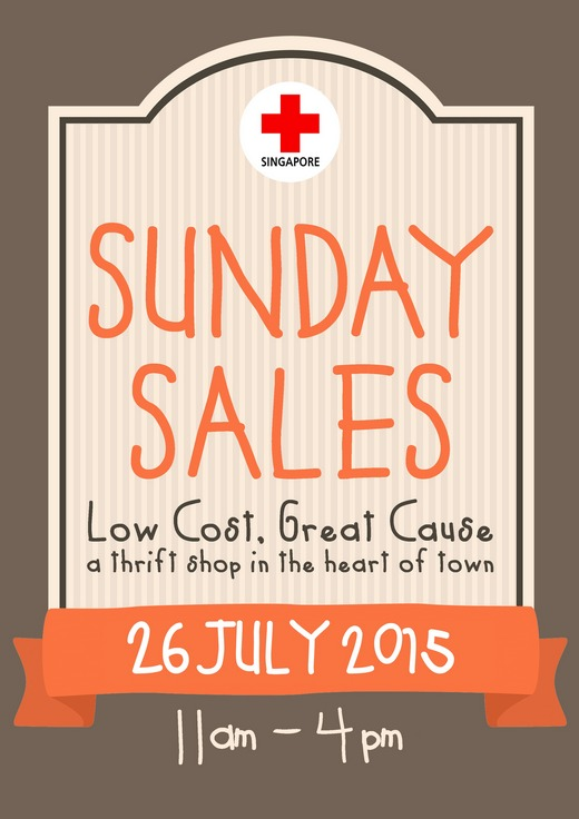 Singapore Red Cross Sunday Sales (26 Jul 15) 1
