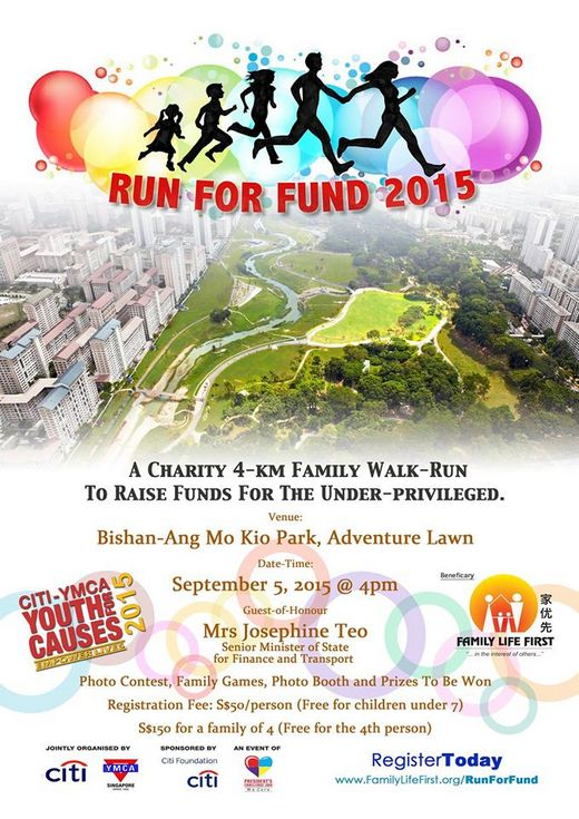 Volunteers needed for Run For Fund 2015