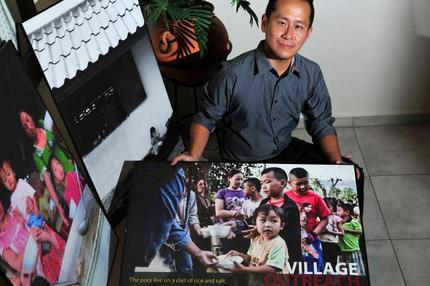 Singaporean quits job here to help villagers in Thailand