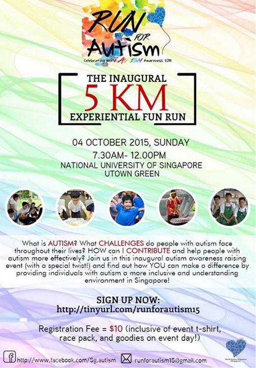 Run For Autism 2015 - Calling for Volunteers!