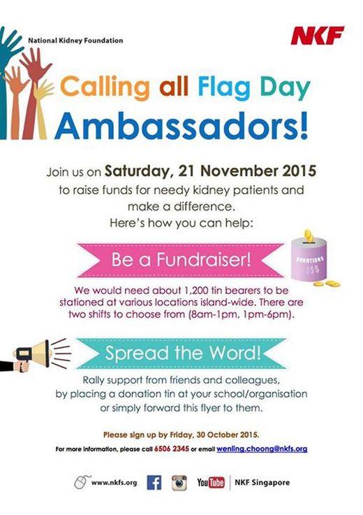 Calling for Flag Day Ambassadors!