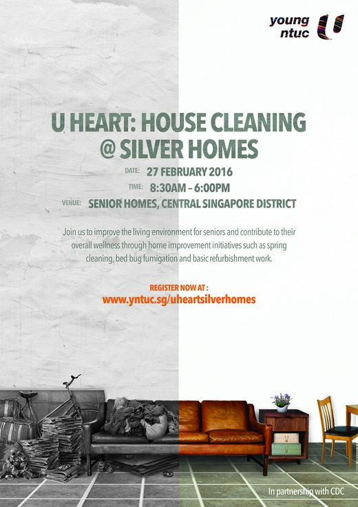 Volunteer Recruitment for U HEART House Cleaning
