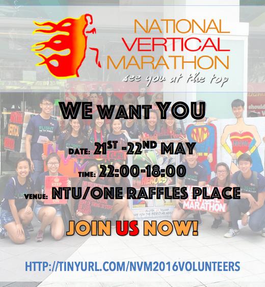 Volunteer For National Vertical Marathon 2016