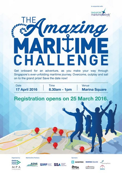 Volunteers for The Amazing Maritime Challenge 2016