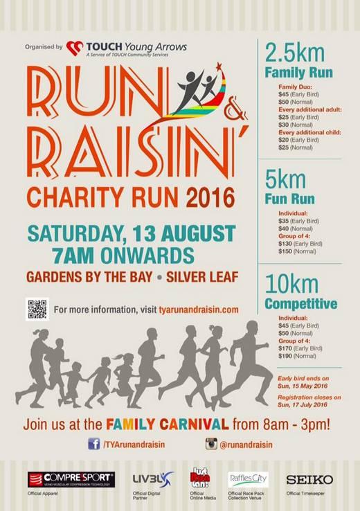 Run & Raisin Charity Run 2016
