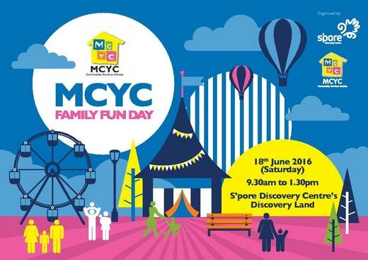 Volunteer for MCYC Family Fun Day 2016