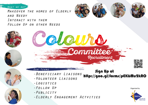 Project Colours Organising Committee Recruitment