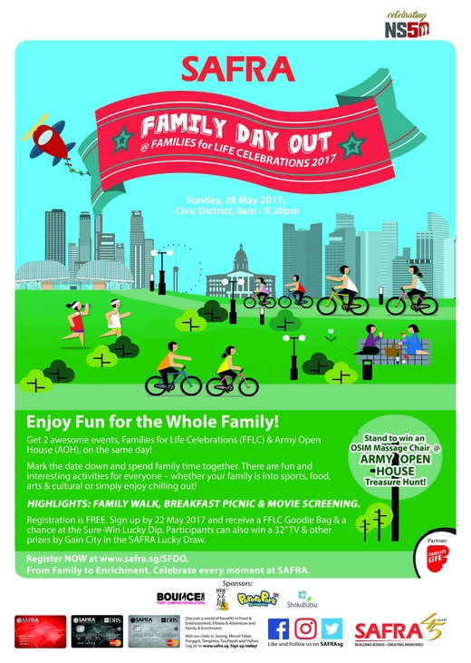 Volunteers needed for safra family day out families for - Family days enero 2017 ...
